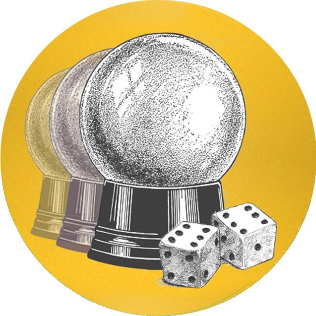 水晶球及骰子