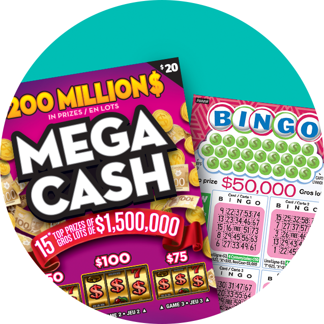 Mega Cash and Bingo tickets