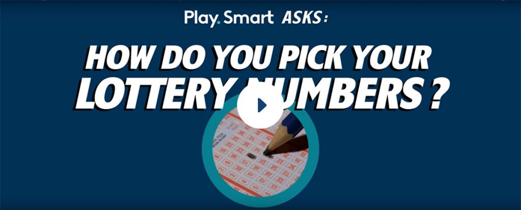 How do you pick your numbers? - Filling out lottery ticket