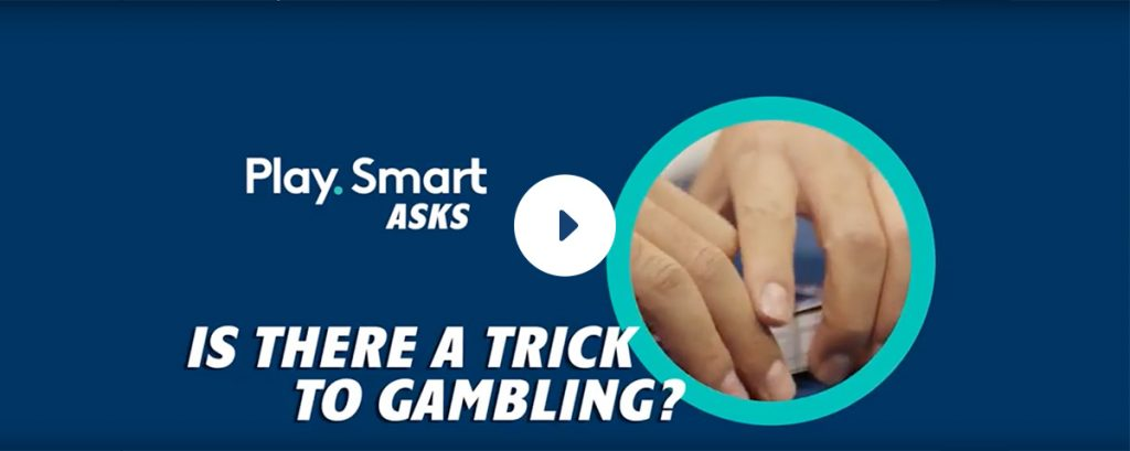Is there a trick to gambling? Hands holding cards