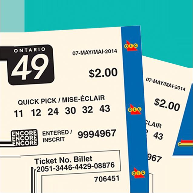 Ontario 49 tickets