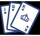 Figures cartes à jouer.