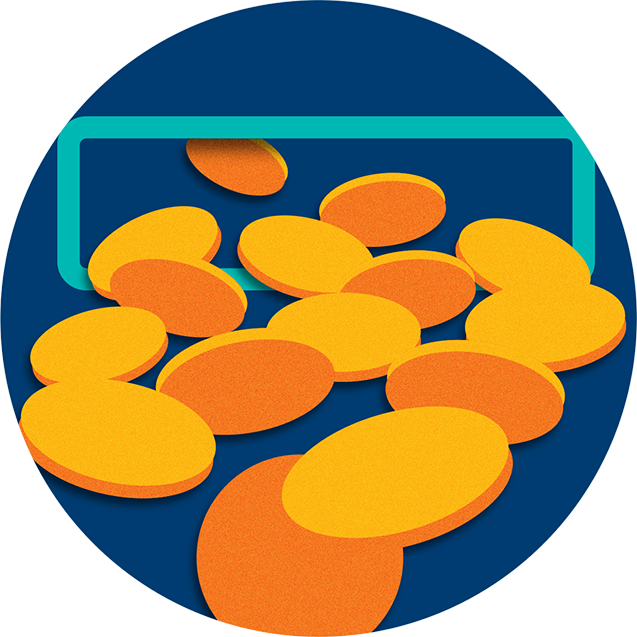 老虎机中掉出很多硬币