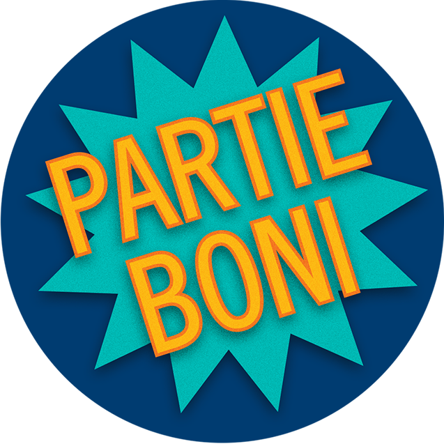 Badge partie boni
