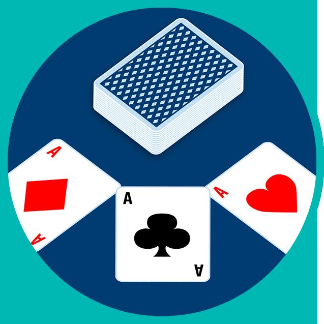三张A和一套扑克牌