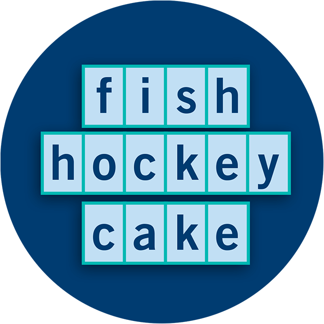 fish hockey cake