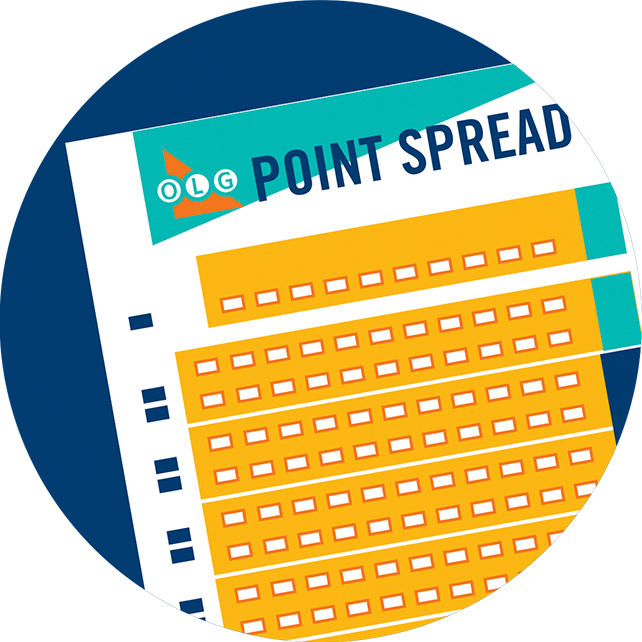 The POINT SPREAD selection slip