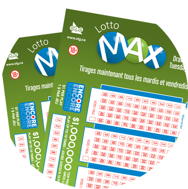 LOTTO MAX Selection Slips
