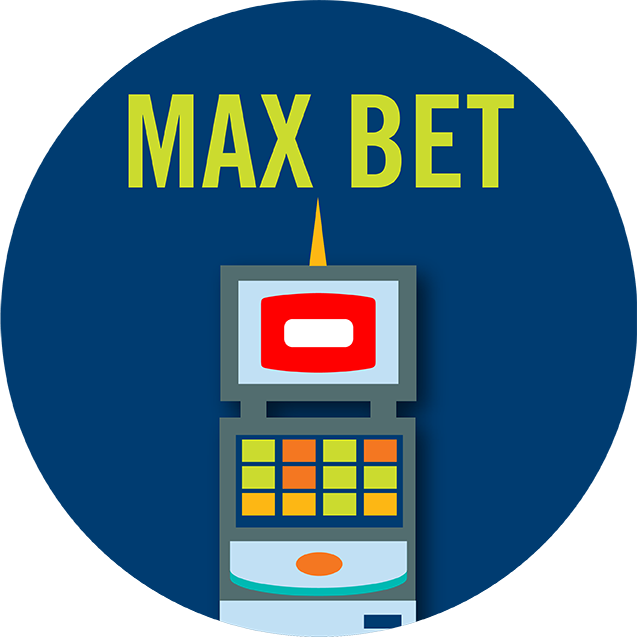 """A TAP 'N PLAY cabinet with the words """"MAX BET"""" above it."""