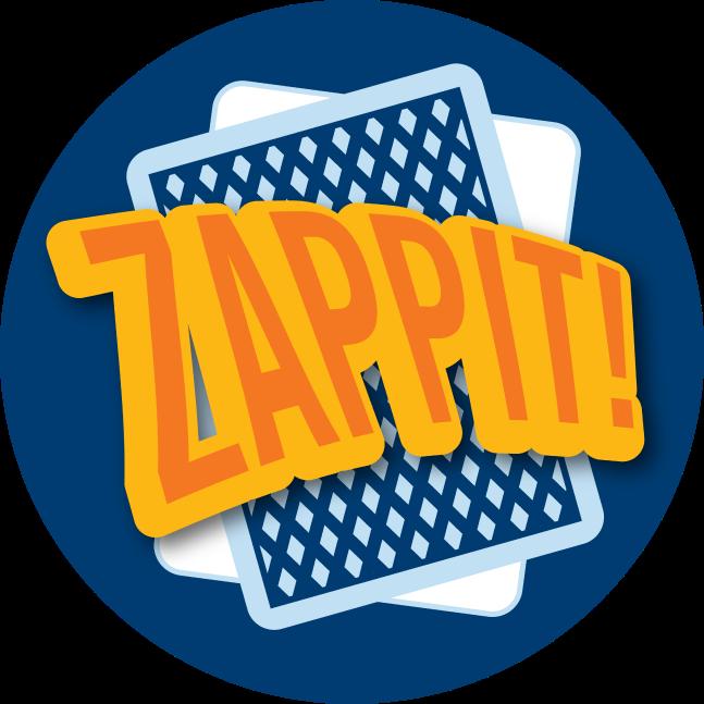两张扑克牌上方写着Zappit