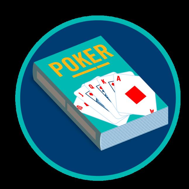 Un livre sur le poker.