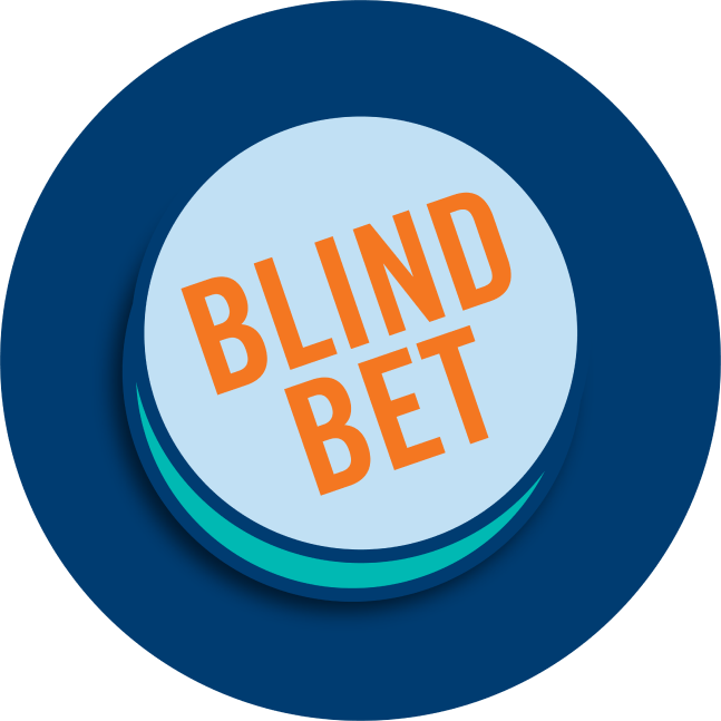 A button that says Blind bet